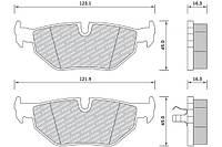 Колодки тормозные дисковые комплект FOMAR 637181