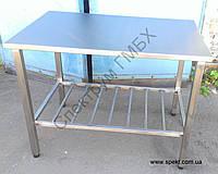 Стол технологический из нержавейки, фото 1