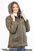 Тёплая весенне-осенняя женская куртка.