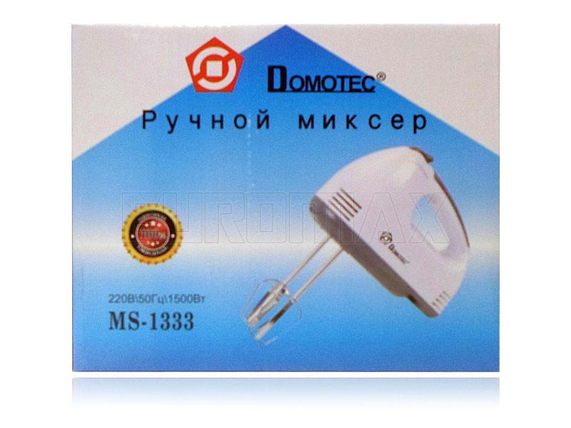 Миксер ручной Domotec 1333