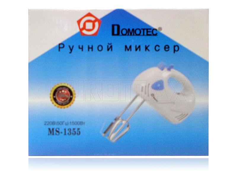 Миксер ручной Domotec 1355