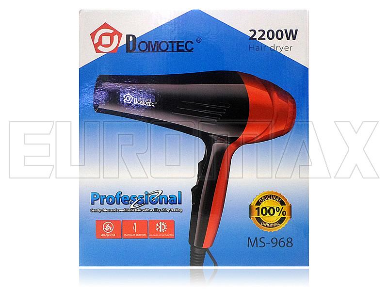 Фен для волос Domotec 968