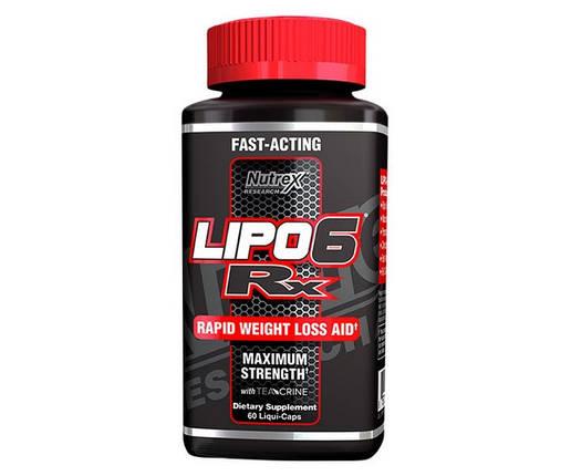 Lipo-6 RX Nutrex 60 Liquid-Caps, фото 2
