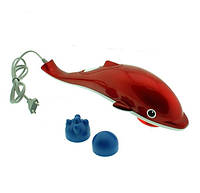 Массажер Дельфин маленький, Dolphin (работает от батареек и сети), фото 1