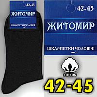 "Носки мужские демисезонные   ЖИТОМИР ТМ ""ДУКАТ"" Украина 42-45. НМД-450"