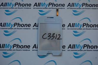 Сенсорный экран для Samsung C3312 white