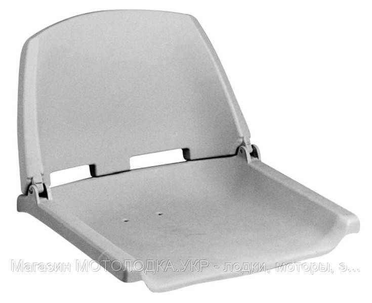 Кресло складное пластиковое серое C12503-G