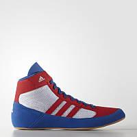 Борцовки Adidas Havoc синие с красным
