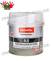 Шпатлевка с алюминиевой пылью NOVOL ALU Professional 750 гр