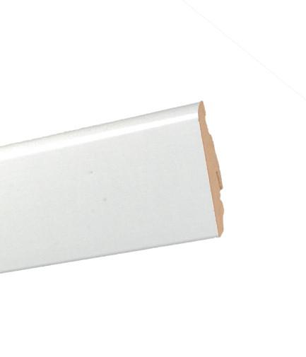 Плинтус MDF FU60L белый, коллекция Paint on, арт.532018, пр-во Австрия