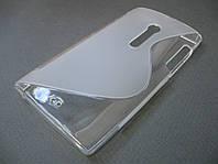 Силиконовый TPU чехол Sony Xperia Ion LT28i