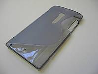 Силиконовый TPU чехол Sony Xperia Ion LT28i (серый)