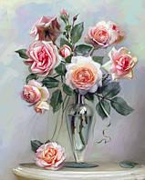 Картина по номерам - Нежные розы