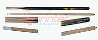 Кий бильярдный складной деревянный 160 см с медным наконечником 13 мм.