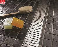 Душевой канал ACO Shower Drain 885 + решетка Волна