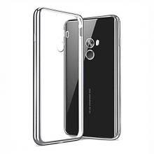 Чехол накладка силиконовый TPU Luxury Soft для Xiaomi Mi Mix серебро