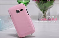Чехол Nillkin Samsung S6802 Ace DUOS + пленка (розовый)