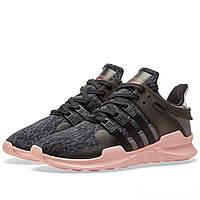 Оригинальные  кроссовки Adidas EQT Support ADV W Black & Trace Grey