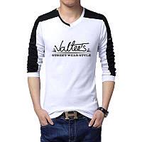 Valter's - Футболка Мужская с длинным рукавом (лонгслив) с Дизайном