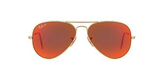 Солнцезащитные очки Ray-Ban Aviator ORIGINAL GOLD MATTE/ORANGE Gradient RB3025 58