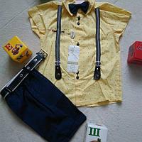 Нарядные костюмы+ на мальчика с подтяжками
