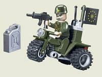 Конструктор Brick Военный мотоцикл