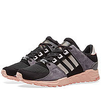 Оригинальные  кроссовки Adidas  EQT Support RF W Black & Ice Purple
