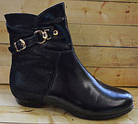 Кожаные демисезонные ботинки Каприз размер 33