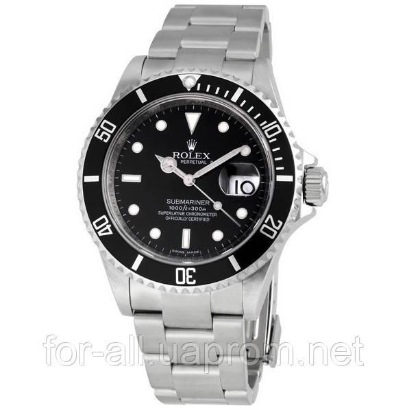 Кварцевые наручные часы Rolex Submariner Silver R6136 - Интернет-магазин  Модная покупка в Харькове 888a21c0a7f