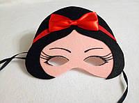 Набор  из 8 шт карнавальных масок Белоснежка и 7  Гномов