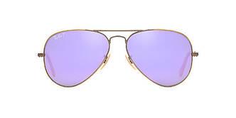 Солнцезащитные очки Ray-Ban Aviator ORIGINAL BRONZE/PURPLE Gradient RB3025 58