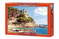 """Пазлы Castorland """"Крепость Lloret de Mar"""" - 1000 элементов."""