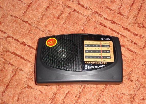 Маленький радиоприемник Star Radio SR-308