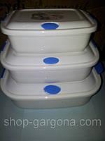 Пищевые судочки-контейнеры 3шт