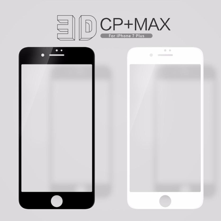 Защитное стекло Nillkin 3D CP+ Max для iPhone 7 Plus/8 Plus закругленные края