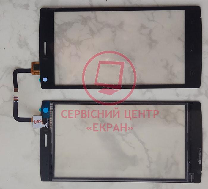 Сенсорний екран для смартфону Doogee X5 MAX, тачскрін чорний