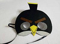 Карнавальная маска Энгри Бердс Бомб
