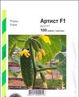 Семена огурца Артист F1 (Бейо / Bejo/ АГРОПАК+) 100 семян - партенокарпик, ультра-ранний гибрид (40-45 дней)