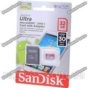 Карта памяти SanDisk ULTRA SDSDQUA-032G microSDHC 32 Гб, фото 2
