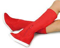 Женские сапоги az1326 Sneakersy Red