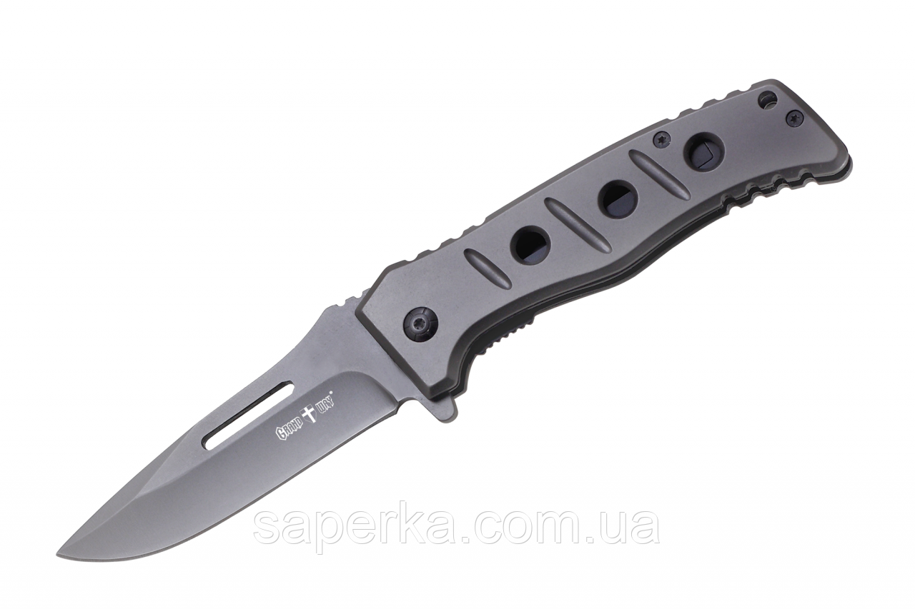 Нож складной с фальшлезвием Grand Way DA-26