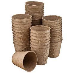 Торфяные горшки для рассады размер 8*8 сантиметров