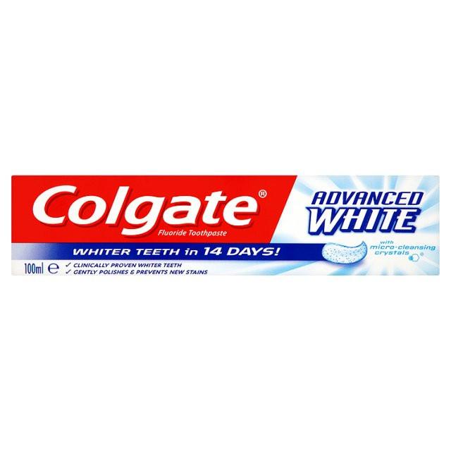 Зубна паста для відбілювання Colgate Advanced white 100 мл