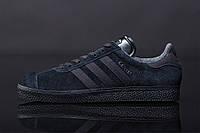 Мужские кроссовки Adidas Gazelle Triple Black