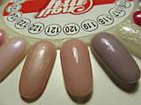 Гель-лак My Nail №121 (бежево-розовый,перламутровый) 9 мл, фото 3