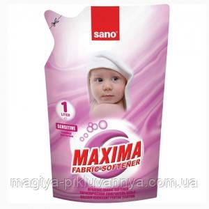 Ополаскиватель для белья Sano Sensitive, 1 л, арт.935437