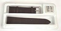 Ремешок черный кожа 20мм    001