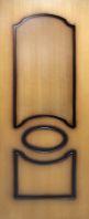 Дверь межкомнатная Виктория глухое полотно, фото 1