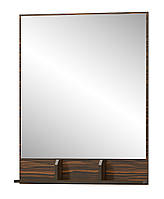 "Зеркало ""Вероника"" 78х100 см.Макасар/Венге"