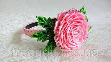 Обруч Весенняя роза, фото 3